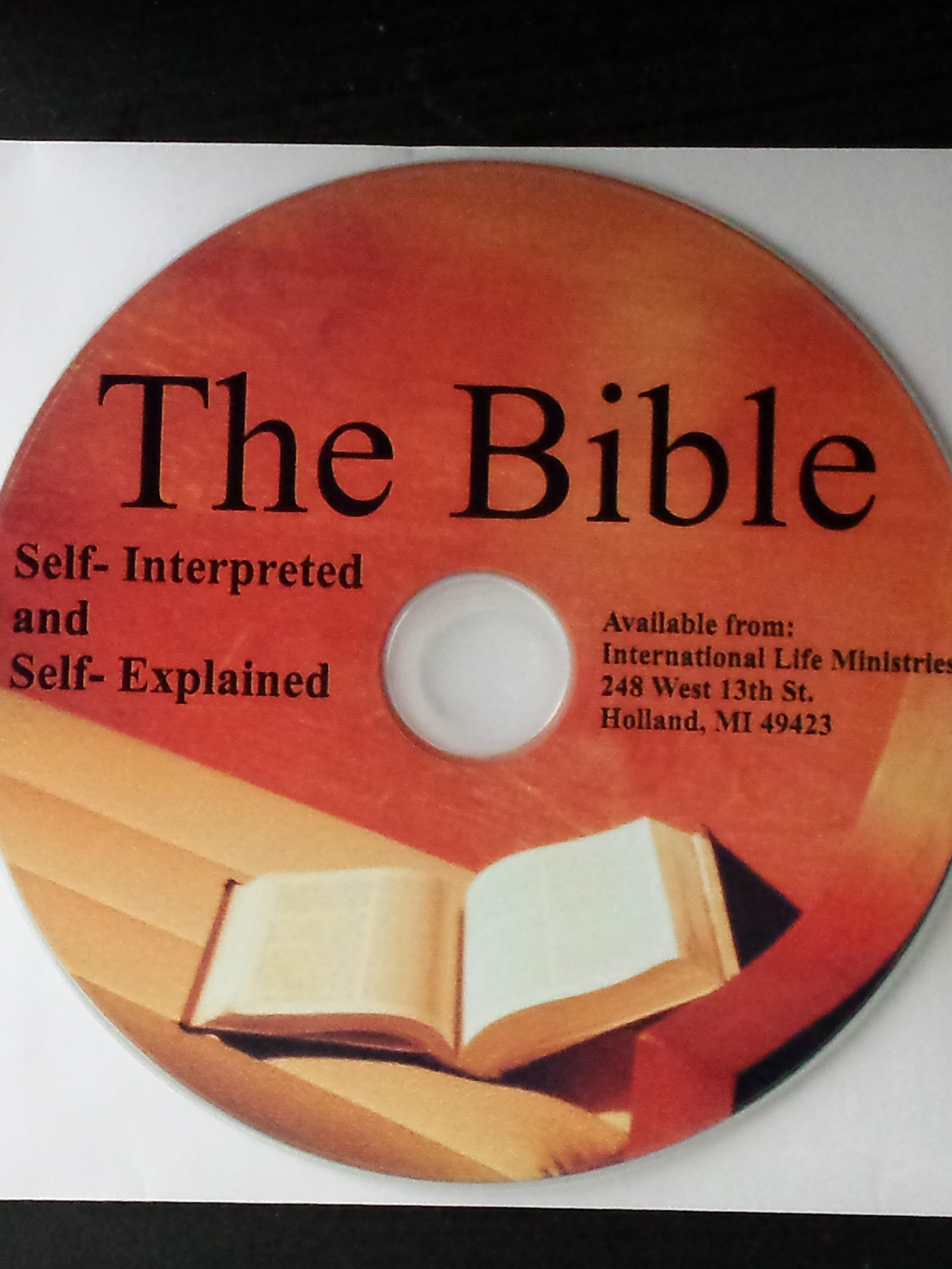 THE CD BIBLE SELF-EXPLAINED